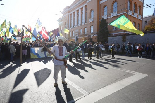 В Киеве начался марш УПА - ФОТО, ВИДЕО - Новости ...